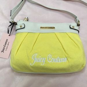 JUICY COUTURE YELLOW PURSE